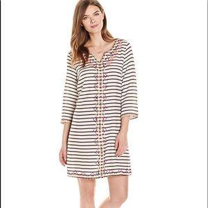 Ella Moon Women's Livi 3/4 Sleeve Striped Dress